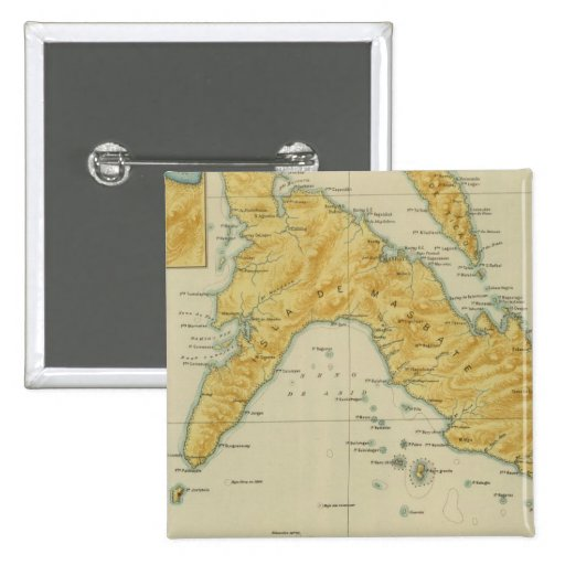 Masbate and Tico No 17 Pinback Buttons