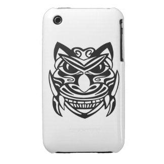 Máscara 1 del estilo del tatuaje iPhone 3 Case-Mate cárcasas