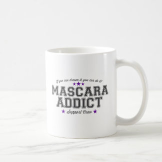 Mascara Addict Support Coffee Mug