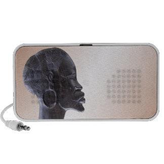 Máscara africana iPod altavoz