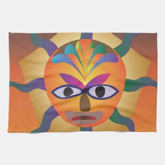 Máscara africana toalla