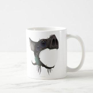 Máscara amistosa de la interferencia tazas de café