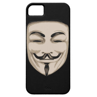 Máscara anónima iPhone 5 protector