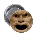Máscara antigua del sátiro pin