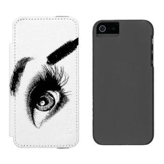 Mascara Art iPhone SE/5/5s Wallet Case