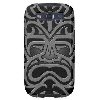 Máscara azteca oscura galaxy s3 cárcasa