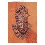 Máscara, Benin Tarjeta