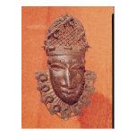Máscara, Benin Tarjeta Postal