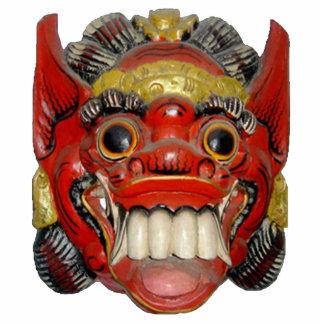 Máscara ceremonial 1 del Balinese Escultura Fotográfica