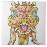 Máscara china del Año Nuevo Teja Ceramica