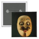 Máscara cómica, teatro de Noh Pin