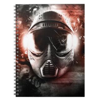 Máscara de Acción Paintball M-2 Libretas Espirales