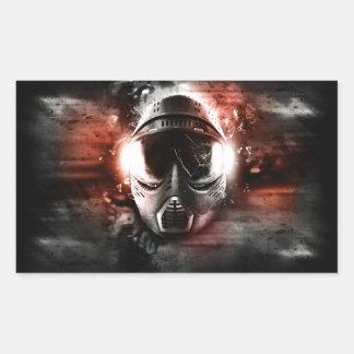 Máscara de Acción Paintball M-2 Rectangular Altavoz