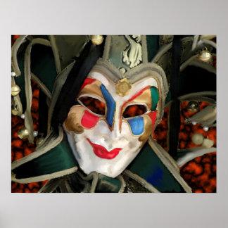 Máscara de Carnaval Posters