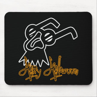 Máscara de la comedia del feliz Halloween Alfombrilla De Ratón