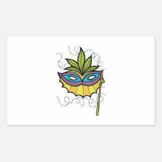 Máscara de la mascarada rectangular altavoces