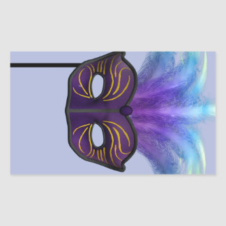 Máscara de la mascarada rectangular altavoz