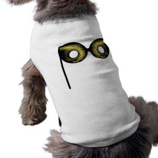 Máscara de la mascarada camisa de perro