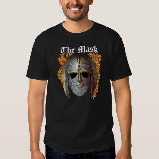 Máscara de llamas camisas
