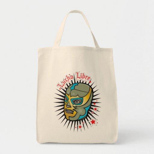 Máscara de lucha mexicana de Lucha Libre Bolsa