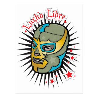 Máscara de lucha mexicana de Lucha Libre Postal