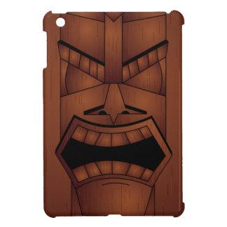 Máscara de madera de Tiki de la mirada