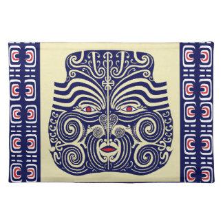 Máscara de Marquesas Manteles Individuales