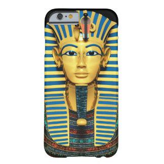 Máscara de muerte fresca de Tutankhamen Funda De iPhone 6 Barely There