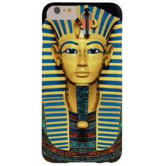 Máscara de muerte fresca de Tutankhamen Funda Para iPhone 6 Plus Barely There