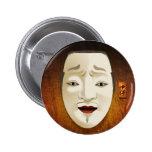 Máscara de Noh - Chujo Pins