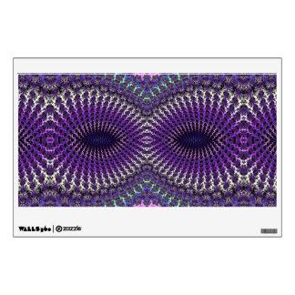 Máscara de ojo de plata púrpura colorida brillante vinilo