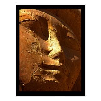 Máscara de oro de Hathor Postales