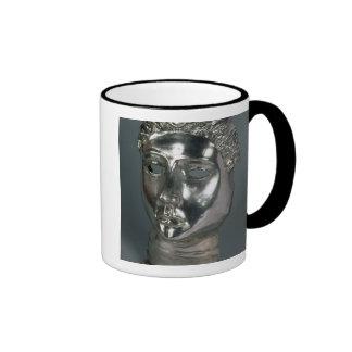 Máscara de plata, romana, 1ra mitad del ANUNCIO de Tazas De Café