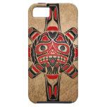 Máscara de Sun del Haida iPhone 5 Carcasa