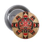 Máscara de Sun del Haida Pin