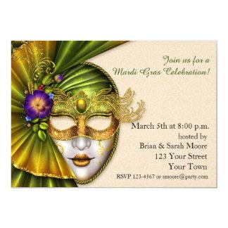 Máscara de Venetion, invitación de la mascarada
