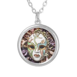Máscara decorativa del carnaval joyeria