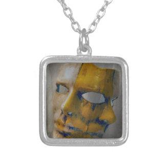 máscara del carnaval collar