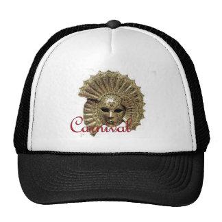 Máscara del carnaval de Venitian Gorras De Camionero