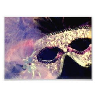 Máscara del carnaval arte fotografico