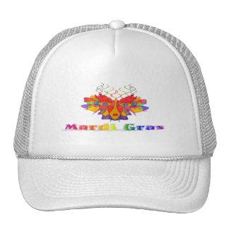 Máscara del carnaval gorras