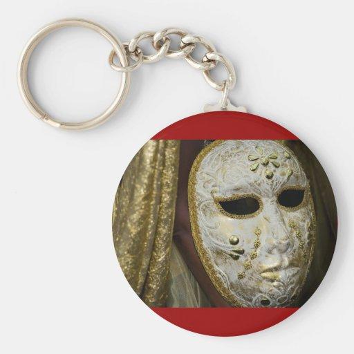 máscara del carnaval llaveros personalizados