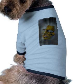 máscara del carnaval camisa de mascota