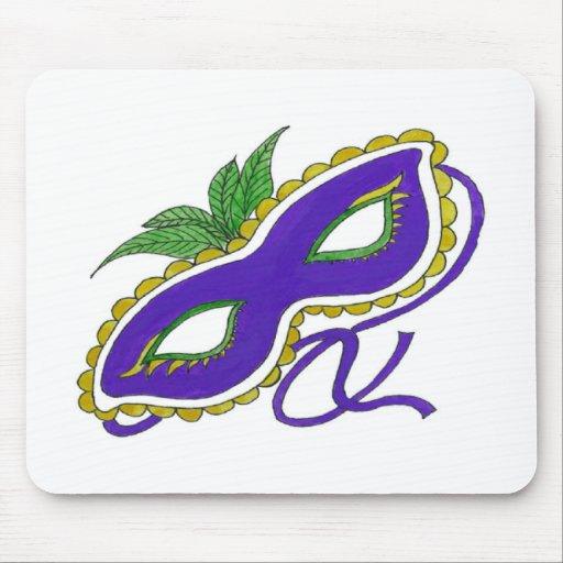 Máscara del carnaval tapetes de ratones