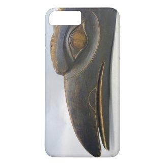 máscara del cuervo del Haida 1600's - caja del Funda iPhone 7 Plus