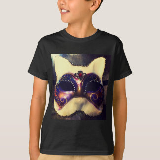 Máscara del gato playeras