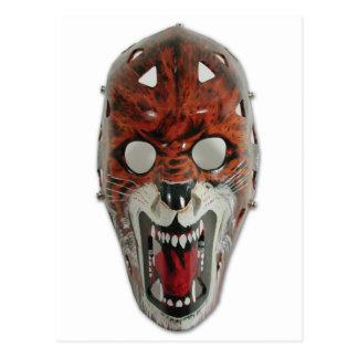 Máscara del hockey postal