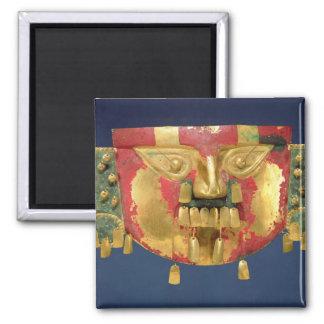 Máscara del inca imán cuadrado