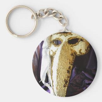 Máscara del pájaro llaveros personalizados