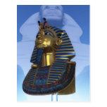 Máscara del pharaoh postal